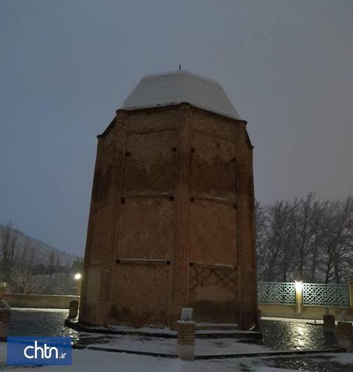 خاموشی برج های تاریخی تهران در شب رحلت بنیانگذار انقلاب اسلامی