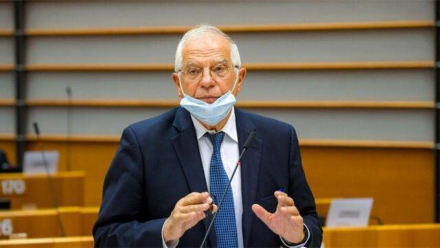 بورل: از نظر ما لوکاشنکو رئیس جمهور مشروع نیست
