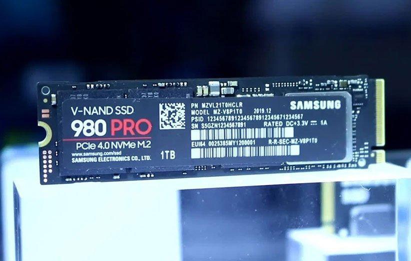 SSD 980 Pro با سرعت خواندن اطلاعات 7 گیگابایت بر ثانیه رونمایی شد
