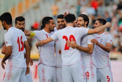 رده بندی فوتبال آسیا، ایران با یک پله سقوط در رده ششم
