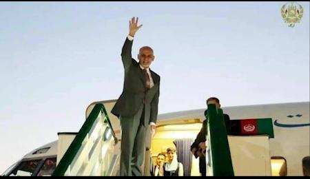 اشرف غنی راهی تاجیکستان شد